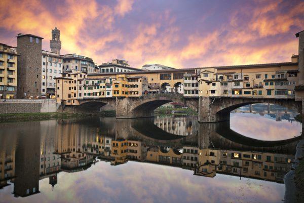 Ponte Vecchio, Florencia - Viaje a Italia