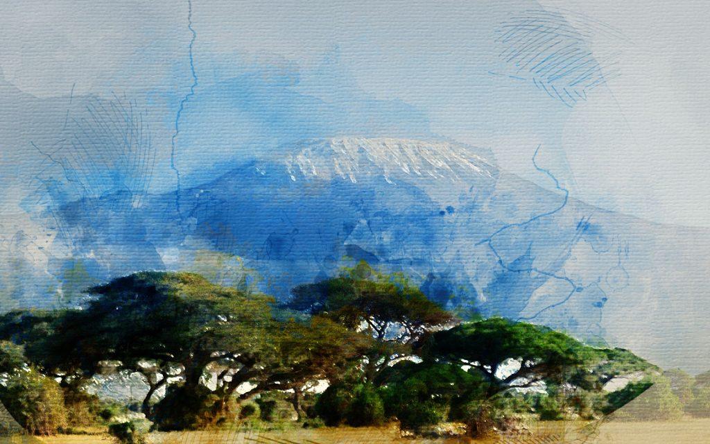 África, Tanzania, Kilimanjaro