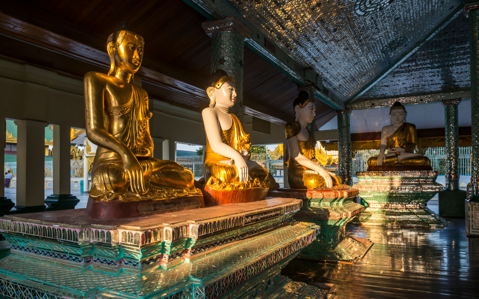 La Pagoda de Shwedagon