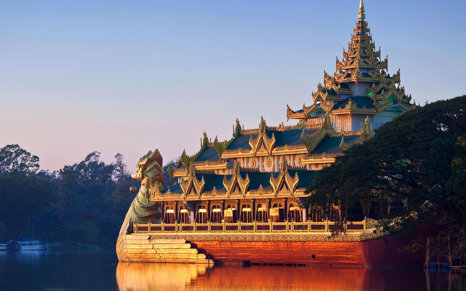 Una visita a Yangón (Rangoon)
