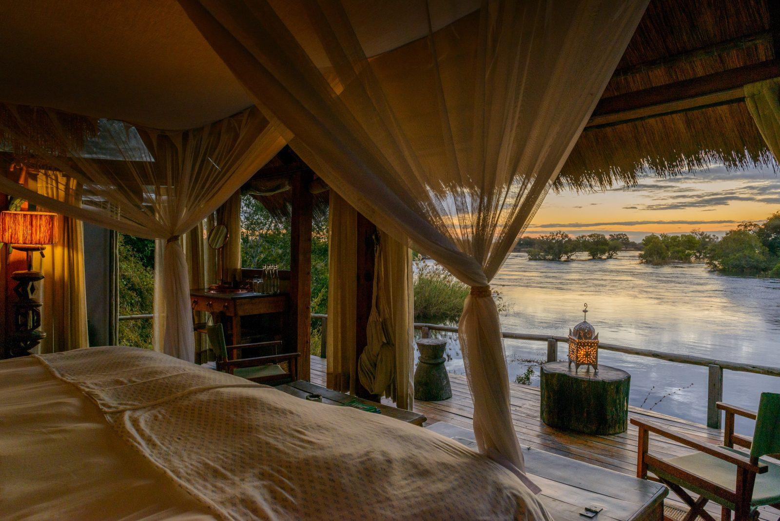 Africa,Botswana,Victoria-Falls,Sindabezi Island Lodge
