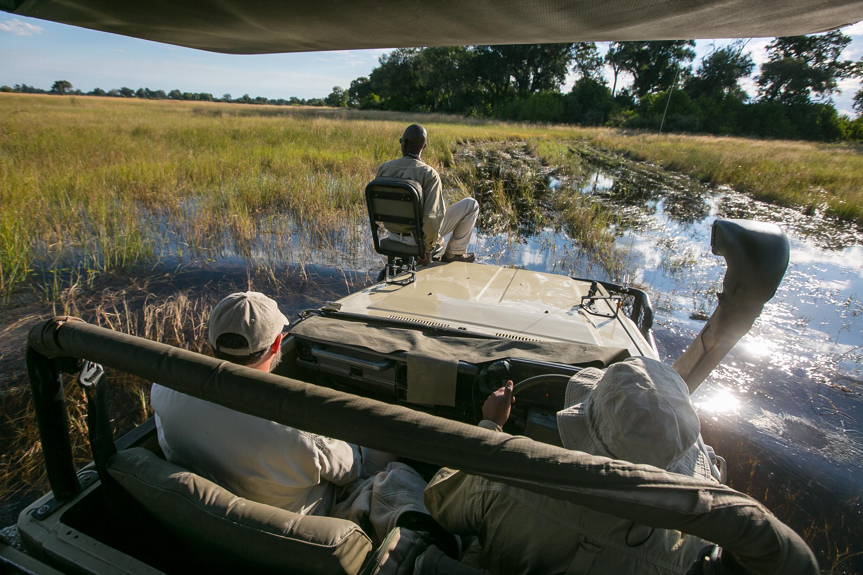 Africa,Botswana,Delta del Okavango,paisaje,safari,coche
