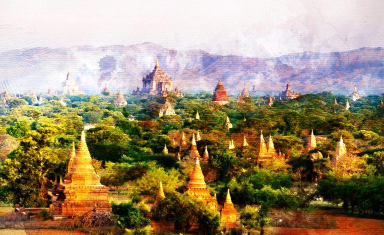 Myanmar. De un instante en Bagan