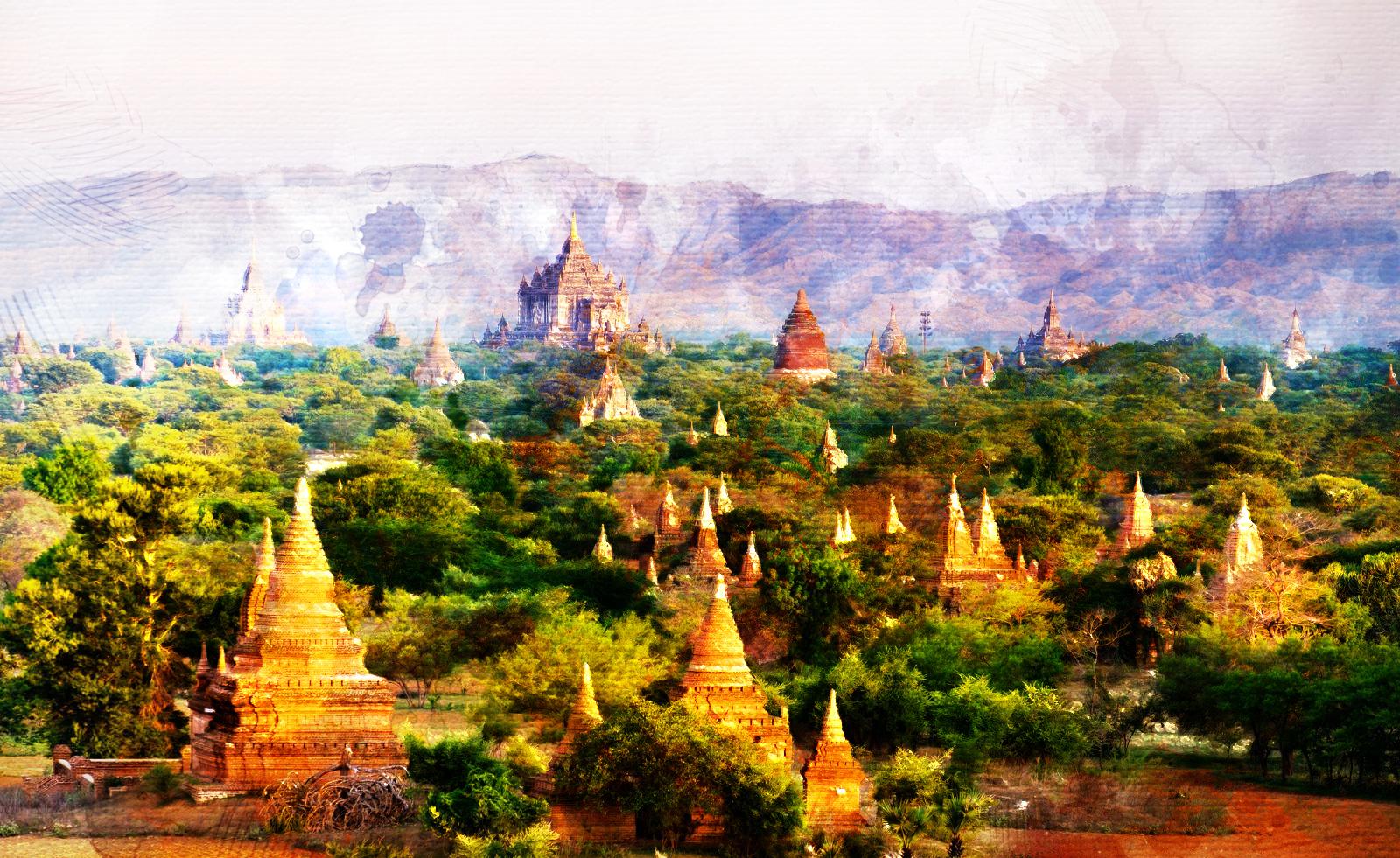 Myanmar. De un instante en Bagán