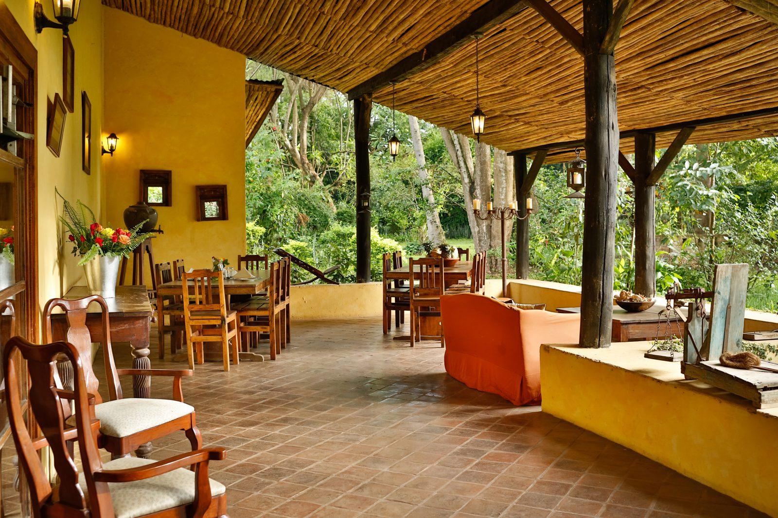 Africa, Tanzania, Arusha, Rivertrees Farm House