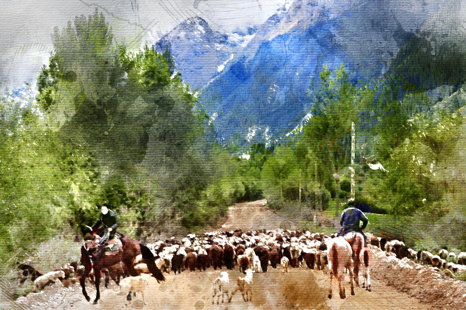 Kirguistán a Caballo